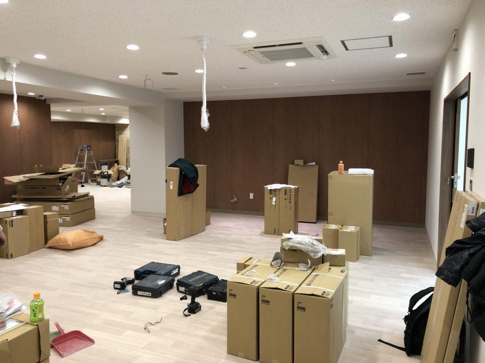 東新宿のクリニック工事